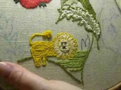 Crewel Embroidery by the Nacient Needle - Woodland In Wool