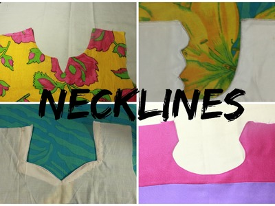 DIFFERENT TYPES OF NECKLINES