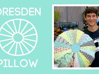 Dresden Template Pillow: Easy Sewing Tutorial with Rob Appell of Man Sewing
