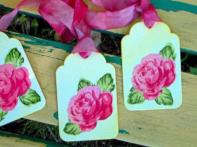How To Use Altenew Layered Stamps {cute tags!}