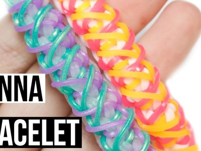 Jenna Bracelet | Rainbow Loom Tutorial | One Loom