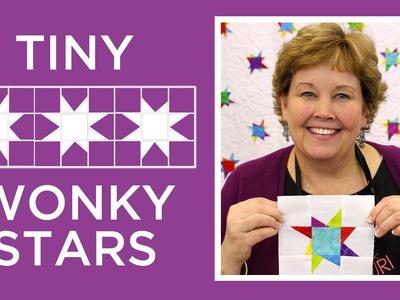 Jenny's Tiny Wonky Stars Quilt