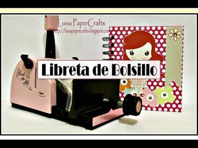 Libreta de Bolsillo con Bind it All y Cute so Cute
