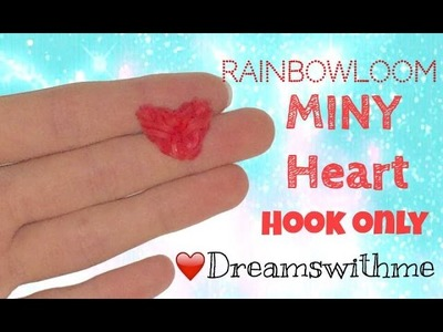 MINY heart hook only in 1 minutes ❤️