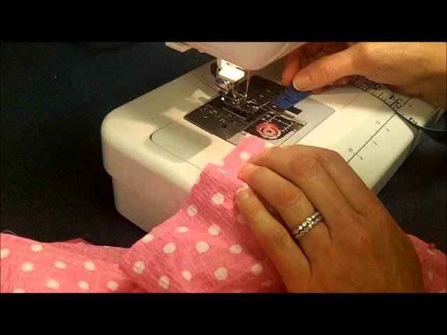 Nicholson How to make pajama pants   Part II (Crotch seam)