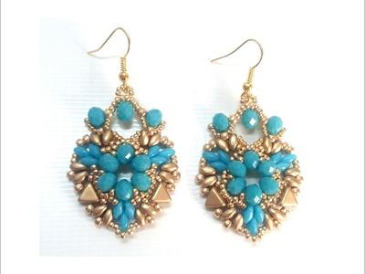 Orecchini Corazon ( DIY - Corazon Earrings)