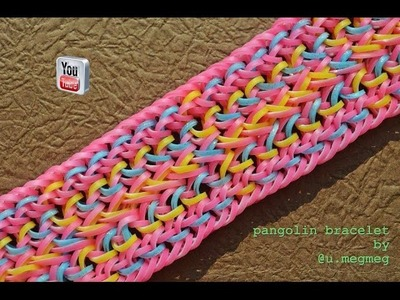 PANGOLIN BRACELET HOOK ONLY DESIGN TUTORIAL