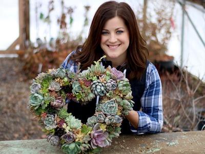Succulent Wreath Tutorial (Full Version)