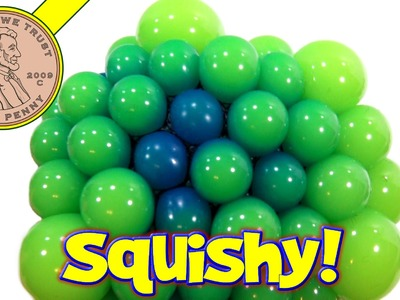 Super Squishy Blob Balls, Glow In The Dark!
