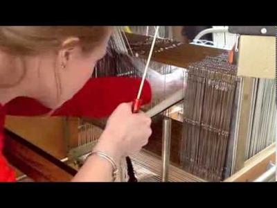 Threading a Dobby Loom