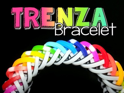 TRENZA Hook Only Rainbow Loom Bracelet Tutorial