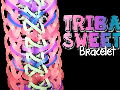 TRIBAL SWEETS Hook and Rainbow Loom Bracelet Tutorial