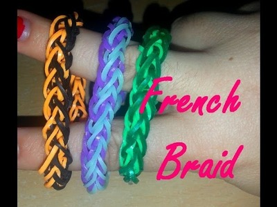 Tuto : French Braid Loom Band Facile (Français)