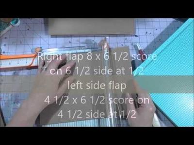 Baby mini album tutorial part 1 - Little Safari- #pawgustart