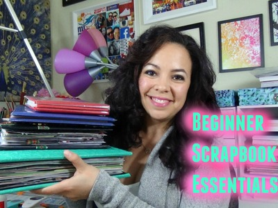 Beginner Scrapbooking- Basic Tools & Supplies