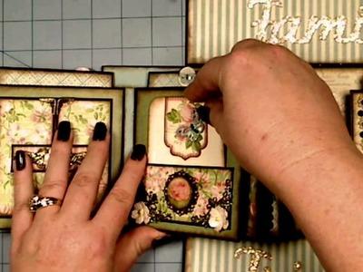 Botanical Tea Boxed Gatefold Mini Album Graphic 45