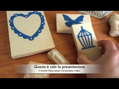 Creare Timbri con la SIZZIX BIG SHOT  How to create stamps with SIZZIX BIG SHOT