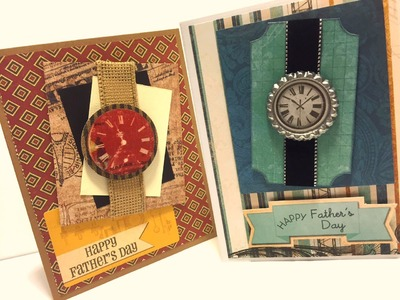 Father's Day Watch Card
