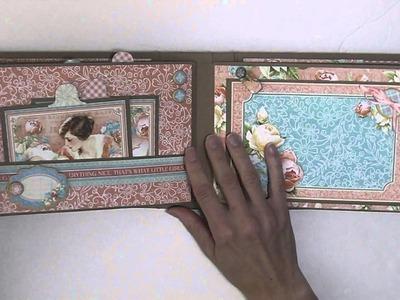 Graphic 45 Precious Memories Baby Girl Mini Album