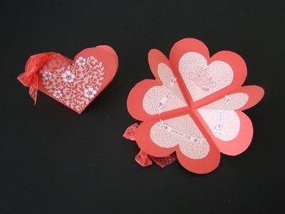 Heart Shaped Fancy Fold Card
