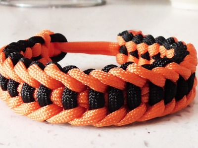 How To Make The Jagged Ladder Paracord Survival Bracelet Without Buckle
