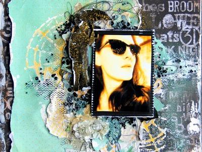 Mixed Media process video by Fiona Paltridge