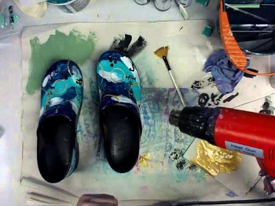 Painted Danskos -- Part 3 - Patti Tolley Parrish - Inky Obsessions