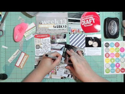 Project Life Process Video - Polly! - April Showers Kit