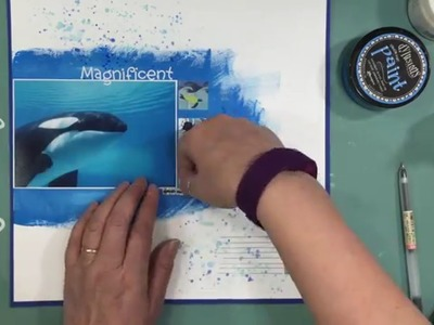 Scrapbooking Process 541: Watercolor Wednesday (2016- 14.150)