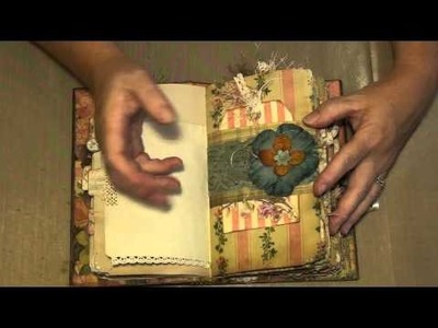 Vintage Style Journal using a book cover