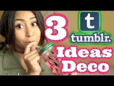 3 Ideas para Decorar tu Cuarto de Tumblr!. DIY. MonCruzPinto♥