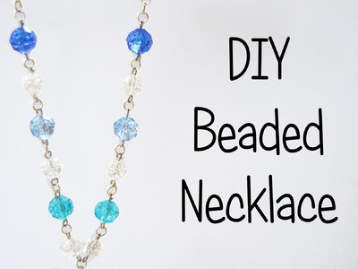 Beaded Necklace Tutorial