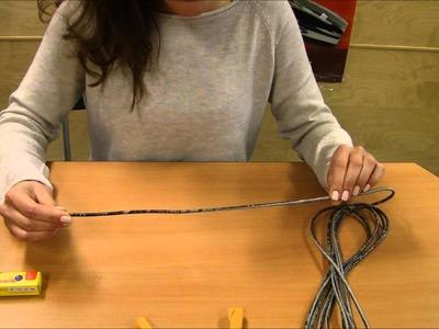 Bracelet with magnetic lock - Tutorial