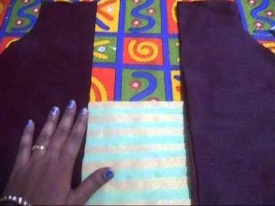 Designer blouse making (DIY)