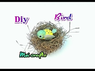Diy: Bird( easy way)