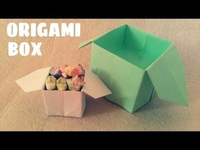 DIY - Easy Origami Box Instructions