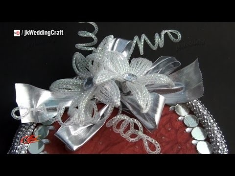 DIY Flower For Trousseau Packing   How to make   JK Wedding Craft 047