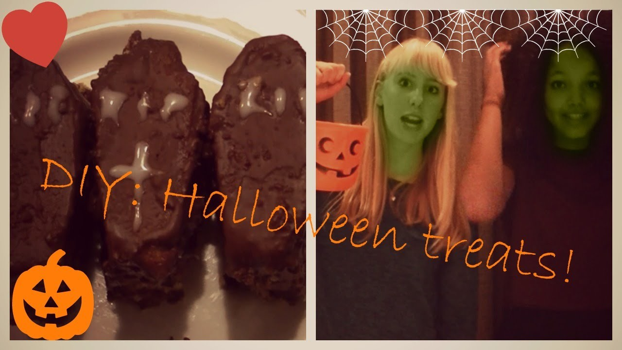 DIY Halloween treats: easy and fun! ♥
