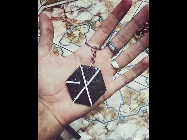 DIY | How to make EXO keychain