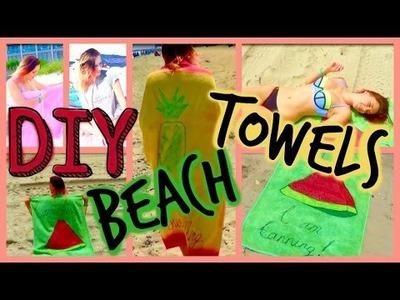 DIY Instagram Worthy Beach Towels: Easy, Fast & Affordable Ideas ♡ Anastasia Cheva