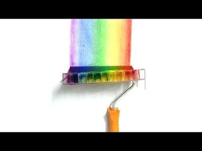 DIY Rainbow Roller