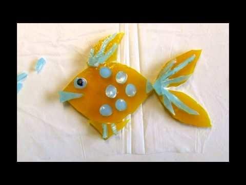 Fused Glass Fish Tutorial