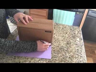 How To: DIY Storage Boxes