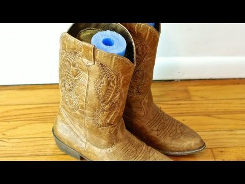 Make Foam Boot Noodle Supports - DIY Style - Guidecentral