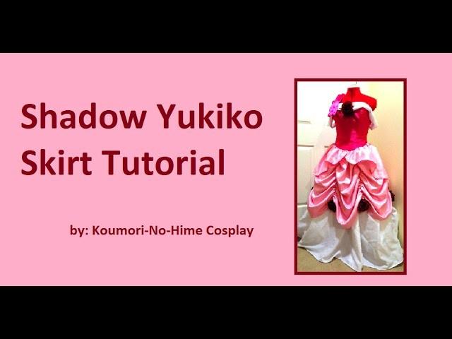 Shadow Yukiko Skirt Tutorial
