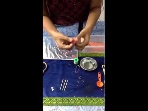 Terracotta clay (jhumka )earing tutorial