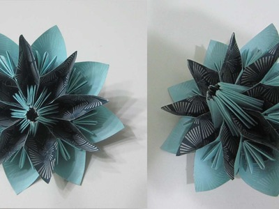 TUTORIAL - How to make a simple and elegant decorative Star Flower