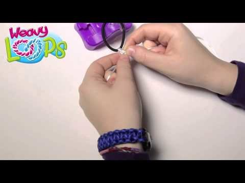 Weavy Loops Flower Knot Headband Tutorial