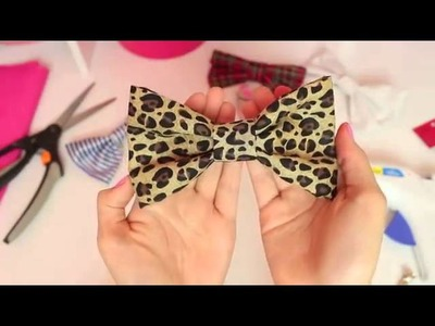 Bethany Mota   DIY Hair Bows! + How I wear style my bows