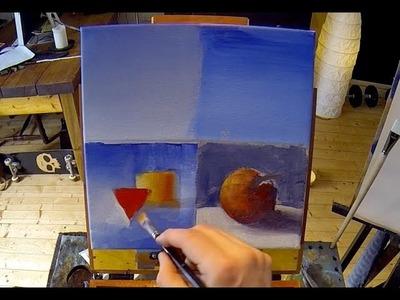 Blending Acrylic Paints - Acrylic Painting Lesson